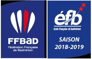 École Française De Badminton - Saison 2018 - 2019